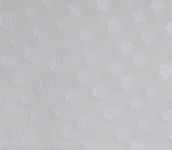 CUT VOILE JACQUARD FLOWER