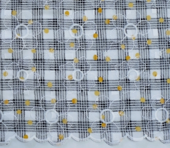 EMBROIDERY 2835A col. 12 yellow-white