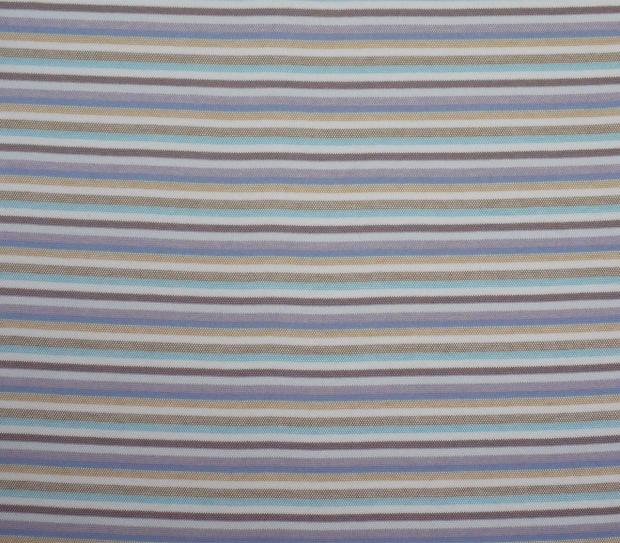 BAUMWOLL-Jersey 3005/64 Col. 1 Weiss/hellblau/blau/dunkel