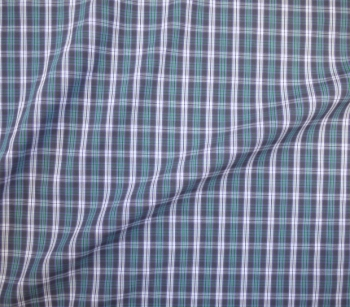 SHIRTING MATERIAL CHECKED 5009 purple/green/white/black