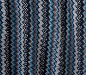 Wool 10352 blue/brown/white