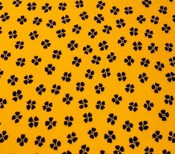 COTTON JERSEY 3005/108 yellow/black
