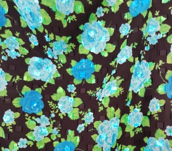 PRINTED CUT VOILE 22779