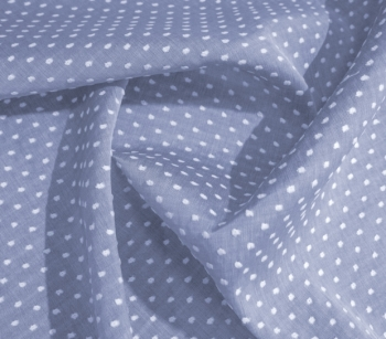 SWISS DOTS TWO-COLOURED JEANS 5600-1832 lila - white