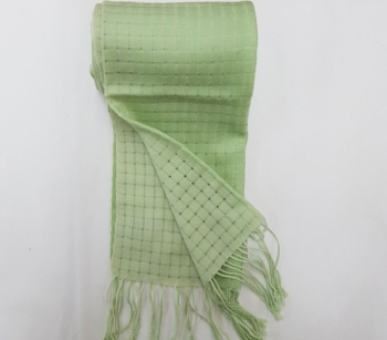 Scarf wool light green