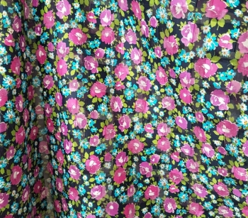 PRINTED CUT VOILE 22957