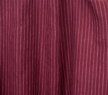 IRISH LINEN 5006 wine red - white