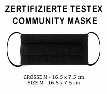 TESTEX TESTED COMMUNITY MASK - SIZE M