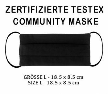 TESTEX TESTED COMMUNITY MASK - SIZE L
