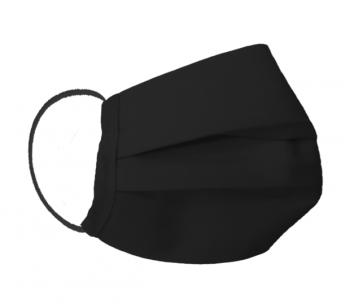 Antiviral mask with CERTIFIED HeiQ protection layer L_1 BLACK