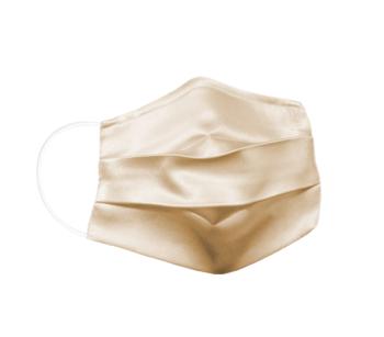 Reusable silk fabric - hygiene mask M  SAND