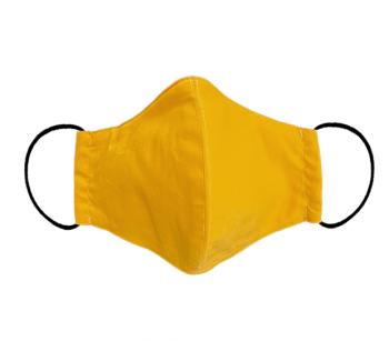 Hygiene masks FFP2 made of Gots cotton mustard